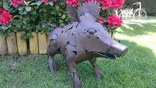 pigs metal garden ornaments ebay