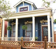 new orleans home siding blue shutters dark blue fascia trim