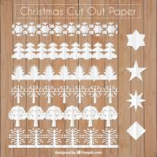cut out christmas borders vector free download