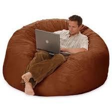 5 foot sack chairs study sack large bean bag chair foam b