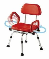 buy platinum health bath and shower chair with padded swivel seat