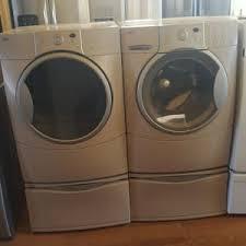Front Loader Pedestal Kenmore Elite He3 Front Load Washer And Dryer Set W Pedestal For
