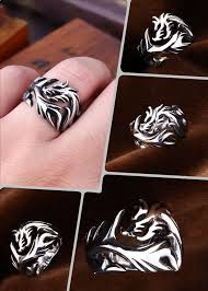 fashion male rings images Stainless steel dragon men ring jewelry store jpg