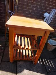 pine butchers block mobile kitchen unit in aylsham norfolk pine butchers block mobile kitchen unit