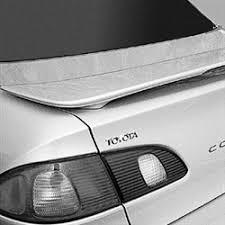 2001 toyota corolla spoiler toyota corolla 2 post painted rear spoiler 1998 1999 2000 2001