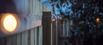 diy wood privacy fence with accent lighting hammer u0026 moxie