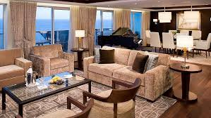 2 Bedroom Penthouse City View Sky Suite Cruise Suites Luxury Cruise Ship Suites Celebrity Cruises