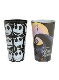 the nightmare before pint glasses set topic