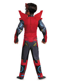 Transformer Halloween Costume Transformers Boys Sideswipe Classic Costume Cartoon Characters