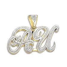 initial necklace diamond images 14k 18k diamond initial pendant nameplate necklace jpg