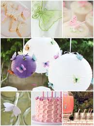 beautiful ideas for a butterfly themed baby shower