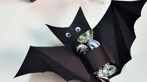how to make a halloween bat candy favor diy crafts tutorial