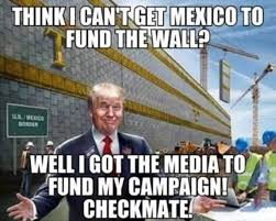 I Cant Meme - think i cant get mexico to fund the wall funny donald trump meme