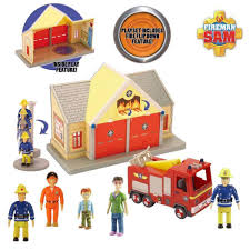 fireman sam pontypandy fire station deluxe gift pack