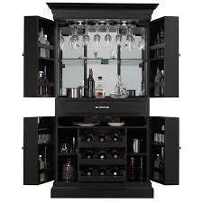 corner bar cabinet black arianna black stain home bar wine cabinet corner server for the