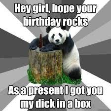 Dick In A Box Meme - pickup line panda memes quickmeme