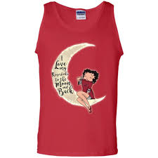 bb i love my arkansas razorbacks to the moon and back t shirt