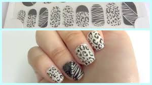 how i paste apply nail art stickers explained step by step for