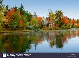 fall foliage color change reflections lake lake