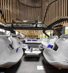 how to shoo car interior at home renault s concept car symbioz has armchairs and wifi daily