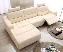 white leather power recliner sofa set off 2143 modern reclining