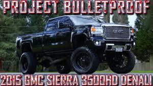 lifted gmc dually project bulletproof 2015 gmc sierra 3500hd denali northwest