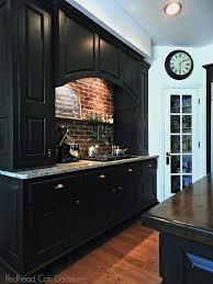 brick backsplash in kitchen diy brick backsplash can decorate
