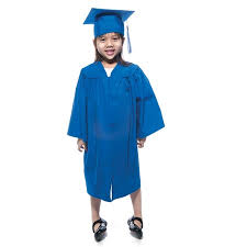 kindergarten cap and gown kindergarten matte graduation gown graduation