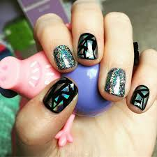 shattered glass nail art broken glass nails 2017 ladylife