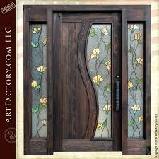 front door glass designs front doors with glass en oak front door with glass side panels