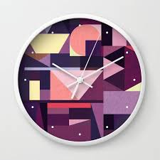 abstract clocks 77 best clocks images on pinterest purple wall clocks abstract