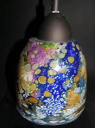 hand blown glass light globes hand blown glass pendant l shade