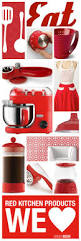Red Kitchen Canisters by Top 25 Best Red Kitchen Accents Ideas On Pinterest Red And