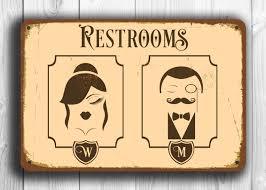rest room sign home decor interior exterior classy simple under