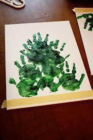 christmas craft u2013 handprint christmas trees jenn elwelljenn elwell