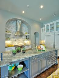 Gray Kitchens Pictures 156 Best Blue Kitchens Images On Pinterest Blue Kitchen Cabinets