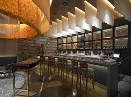 Waku Ghin Restaurant With Modern Bar Design LEED Restaurant - Interior restaurant design ideas