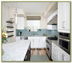 Light Grey Glass Tile Backsplash Download Page  Best Home - Blue glass tile backsplash