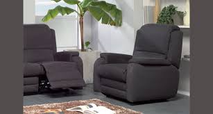 canapé relax 3 places tissu canape relax electrique microfibre maison design hosnya com
