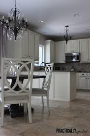 oak kitchen cabinets painted grey from to great a tale of painting oak cabinets
