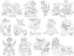 Free Kitchen Embroidery Designs The Vintage Pattern Files 1930 U0027s 40 U0027s 50 U0027s Embroidery Free