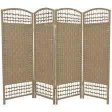 4 panel room divider gray woven fiberglass tall 4 panel room divider of captivating