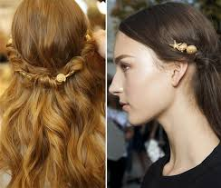 hair accessory summer 2015 hair accessory trends golden hair hair