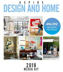 advertising online print with aspire design and home magazine