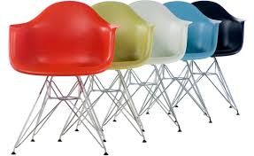 eames molded plastic armchair with wire base hivemodern com
