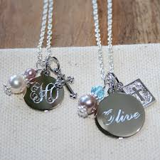 custom engraved necklaces beadifulbaby by adorable engravables build your own