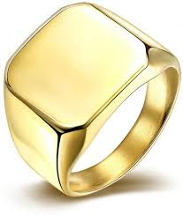 square rings jewelry images Square stainless steel ring jewelry for men engagement ring gold jpg
