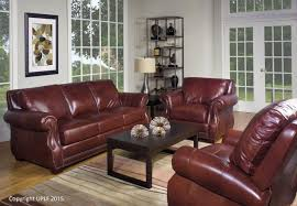 Used Leather Recliner Sofa Sofas Magnificent Nailhead Sofa Set Real Leather Sofas Used