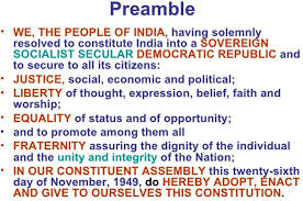 these meaning preamble of the indian constitution meaning of keywords