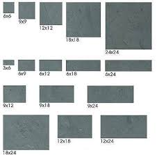 Color Forte Colorful Slate Tile by Floor Tile Sizes